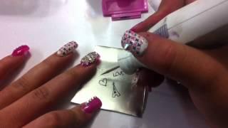 Como hacer placas para estampar uñas / DIY how to make stamping plates for nails // Febrero 2015