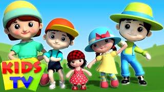 getlinkyoutube.com-Doll Finger family | 3D Finger Family | Nursery Rhymes | Video For Kids