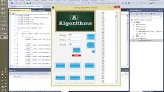 Download Design and Analysis of Algorithm , Sorting Algorithms Calculator in C#