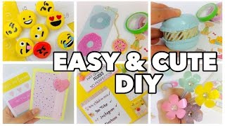 DIY School Supplies!6 Easy DIY Crafts For Back To School