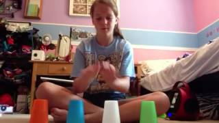 Cup song with 4 cups