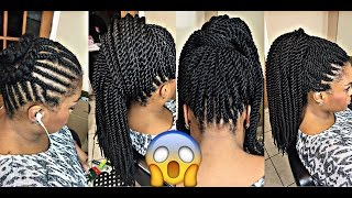 Download video: How to Box Braids CROCHET METHOD