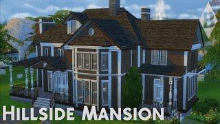 getlinkyoutube.com-The Sims 4 House Building - Hillside Mansion