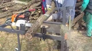 getlinkyoutube.com-Механизмы для колки  дров (идеи Кулибиных)