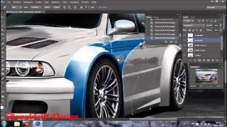 BMW M5 Need For Speed Most Wanted Tribute M3 GTR Virtual Tuning Photoshop