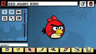 getlinkyoutube.com-Scribblenauts Unlimited and Unmasked 43 Red Angry Bird in Object Editor Hero Creator