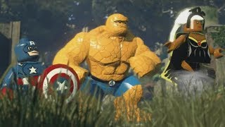 LEGO: Marvel Superheroes - Chapter 12: Rapturous Rise (Captain America, Thing, Storm)