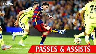 ⚽ BEST PASSES & ASSISTS IN FOOTBALL ● SO BEAUTIFUL
