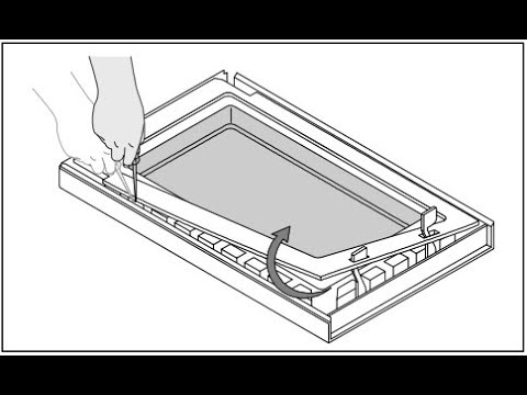 Двери микроволновки