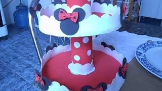 getlinkyoutube.com-baleiro simples para festa da minnie vermelha