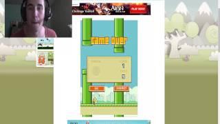 getlinkyoutube.com-CEL MAI ENERVANT JOC DIN LUME! Flappy Bird...
