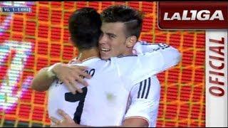 getlinkyoutube.com-Primer gol de Gareth Bale (1-1) en el Villarreal CF - Real Madrid - HD
