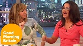 getlinkyoutube.com-Susanna Reid's Wardrobe Malfunction | Good Morning Britain