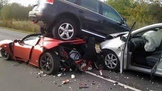 getlinkyoutube.com-حوادث سيارات في روسيا 2016