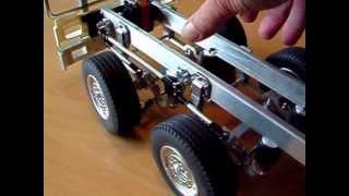 "getlinkyoutube.com-Rc  Tamiya scale 1/14 testing my simulated ""air ""suspension"