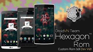 HexagonRom Nougat For OnePlus Three (Rain)