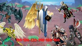 getlinkyoutube.com-Monster legends - bosses 110-120-130-140-150-160