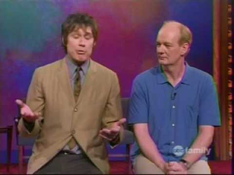 Whose Line Is It Anyway? [Christopher Walken Impersonation]