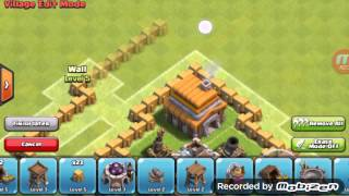 getlinkyoutube.com-Formasi coc th 5 sulit bintang tiga