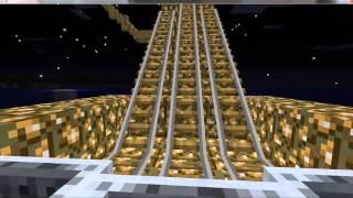 getlinkyoutube.com-My Minecraft Minecart track FINISHED