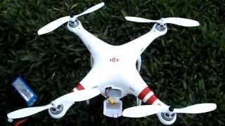 Primeiros-Passo a passo antes de voar com o Phantom Drone DJI