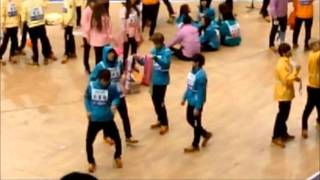 getlinkyoutube.com-[FANCAM] B2uties singing Beast songs in MBC Idol Star Championships