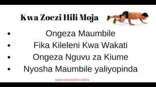Zoezi Moja Litakalookoa Ndoa Yako