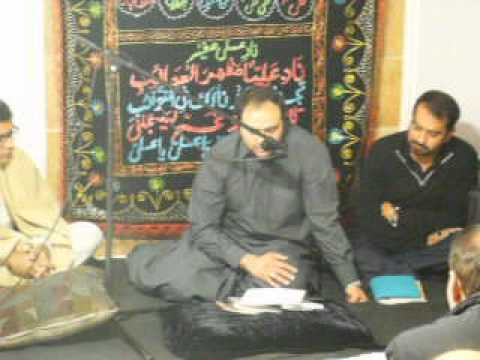 Majalis Matam Dari at Ahsan Naqvi Home 12/29/2013 Part 1
