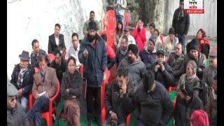 मसूरी में  बढ़ते प्रदूषण और माल रोड के संरक्षण के लिए बैठक का आयोजन