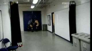 getlinkyoutube.com-WWE: Triple H chases Randy Orton to the tune of Mr. Hill.