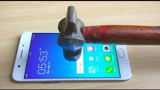 getlinkyoutube.com-Oppo F1s Screen Scratch Test Gorilla Glass 4