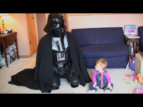 Laughing Baby Vader (Hysterical Bubbles Official Parody)