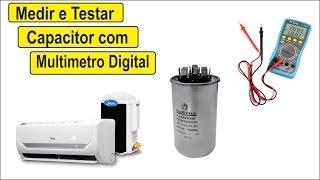 getlinkyoutube.com-Como Medir e Testar Capacitor Com Multimetro Digital Ar Condicionado