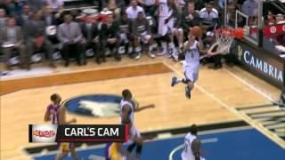 High Flying Alley-Oop against the Lakers