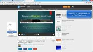 getlinkyoutube.com-How to Download slideshare ppts which are disabled by the author