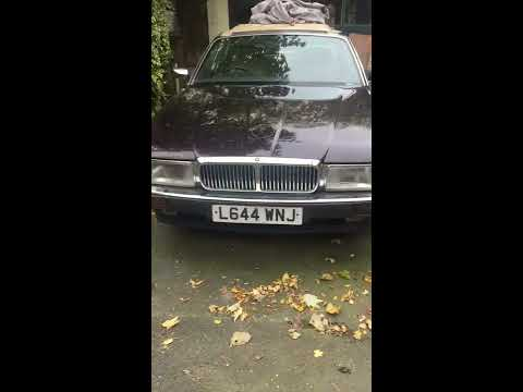 XJ81 Daimler Double Six Restoration Project (Before the strip down)