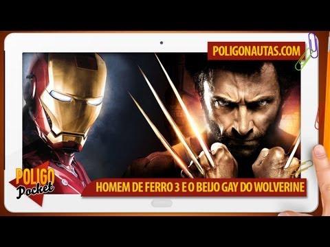 Homem de Ferro 3 e o Beijo Gay do Wolverine | PoligoPocket