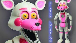 "getlinkyoutube.com-FUNTIME FOXY ""TUTORIAL"" ✔PORCELANA FRIA ✔POLYMER CLAY ✔PLASTILINA"