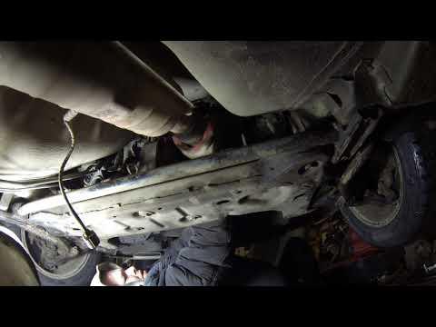 Ремонт выхлопной системы на Газ Волга Сайбер exhaust system on the GAZ Volga Siber