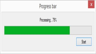 C# Tutorial - Progress Bar | FoxLearn