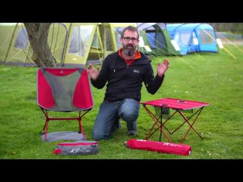 OEX Ultra Lite Chair & X-lite Table
