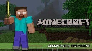 getlinkyoutube.com-Creepypasta: Herobrine | Minecraft