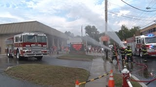 getlinkyoutube.com-Pompton Lakes,NJ Fire Department Engine 53 Wetdown 9/10/16