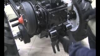 Модификация дизельного мотоблока в минитрактор