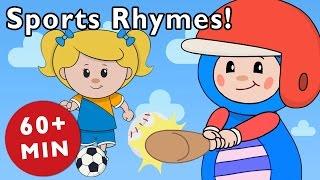 getlinkyoutube.com-Sports Rhymes | Nursery Rhymes from Mother Goose Club!