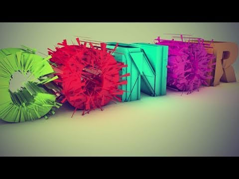 Explode Transition Text Tutorial | Cinema 4D (PolyFX &amp; Random Effector)
