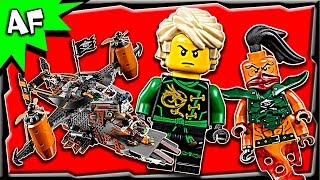 getlinkyoutube.com-Lego Ninjago MISFORTUNE'S KEEP 70605 Stop Motion Build Review