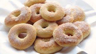 getlinkyoutube.com-Recette des beignets au four   baked donuts recipe