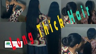 getlinkyoutube.com-Growth for hair-Long thick hair