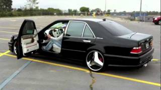 getlinkyoutube.com-One of ten BRABUS s69 V12 biturbo short drive....